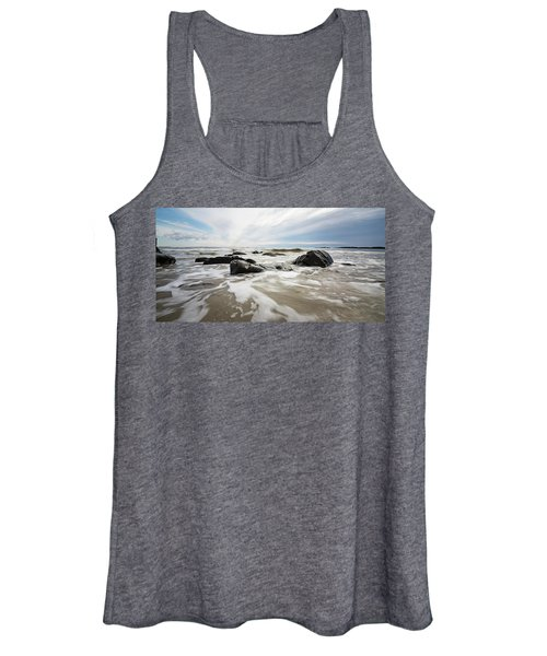 Stormy Maine Morning #3 Women's Tank Top
