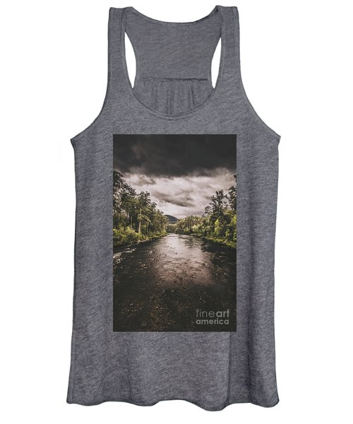 Stormy Streams Women's Tank Top