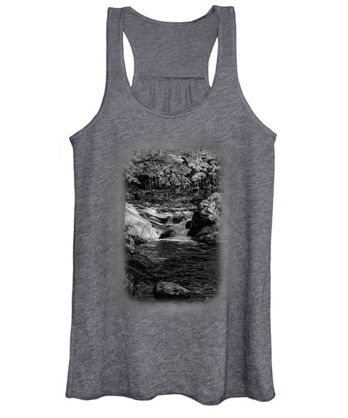 Stream In Autumn No.18 Women's Tank Top