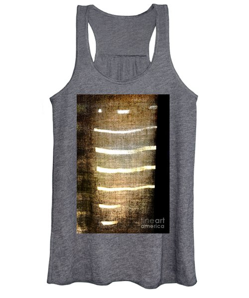 Stripes And Texture Women's Tank Top