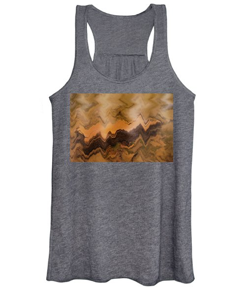 Submerged Railroad Tie Women's Tank Top