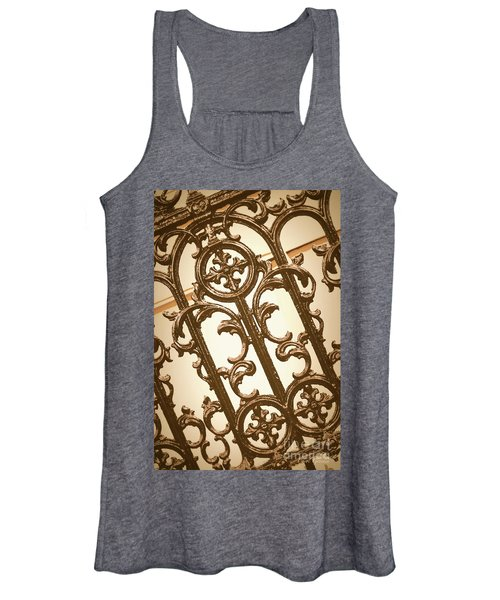 Subtle Southern Charm In Sepia Women's Tank Top