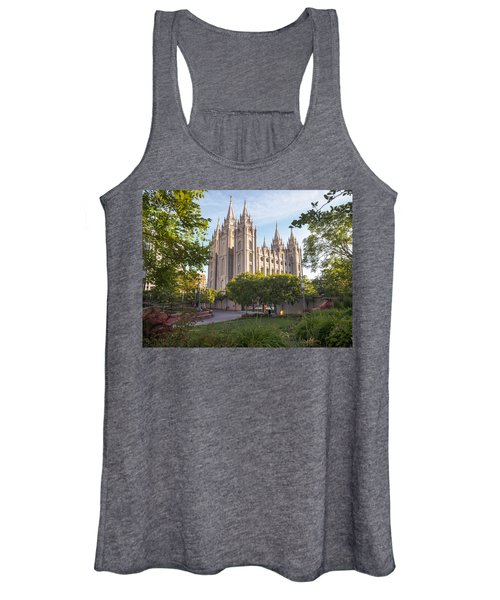 Summer At Temple Square Women's Tank Top