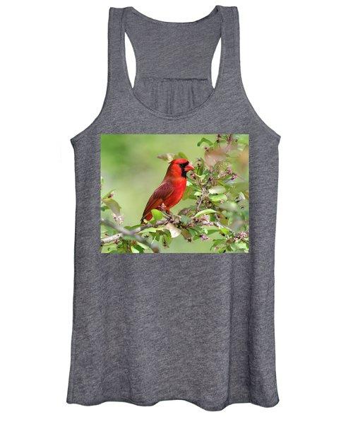 Summer Cardinal Women's Tank Top