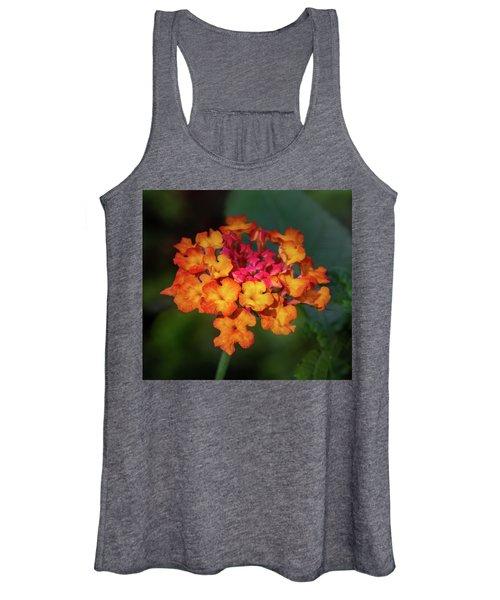 Summer Floral Colors Women's Tank Top
