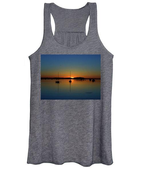 Summer Sunset Monument Beach Women's Tank Top