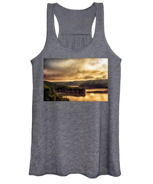 Summersville Lake At Daybreak Women's Tank Top