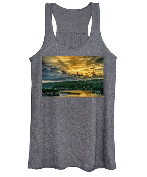 Summersville Lake Sunrise Women's Tank Top