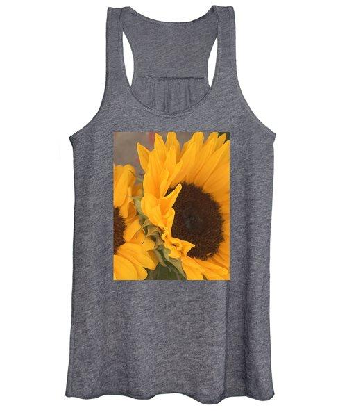 Sun Flower Women's Tank Top