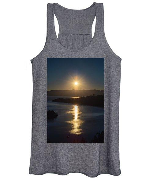 Sun Rising Over Lake Tahoe Women's Tank Top