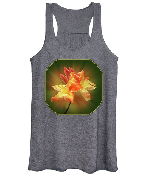 Sunburst Orange Azalea Women's Tank Top