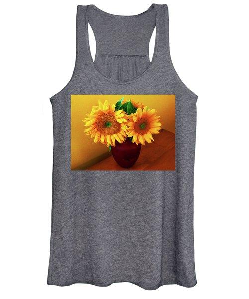 Sunflower Corner Women's Tank Top