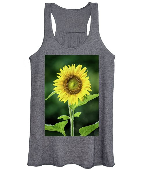 Sunflower In Bloom Women's Tank Top