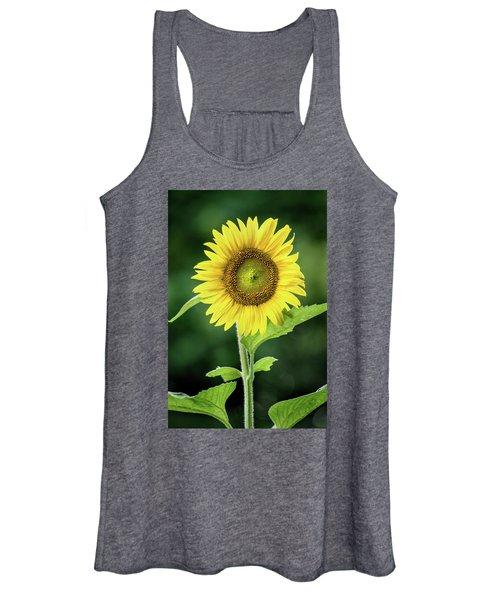Sunflower In Bloom Women's Tank Top