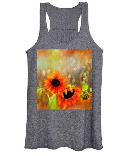 Sunflower Rain Women's Tank Top