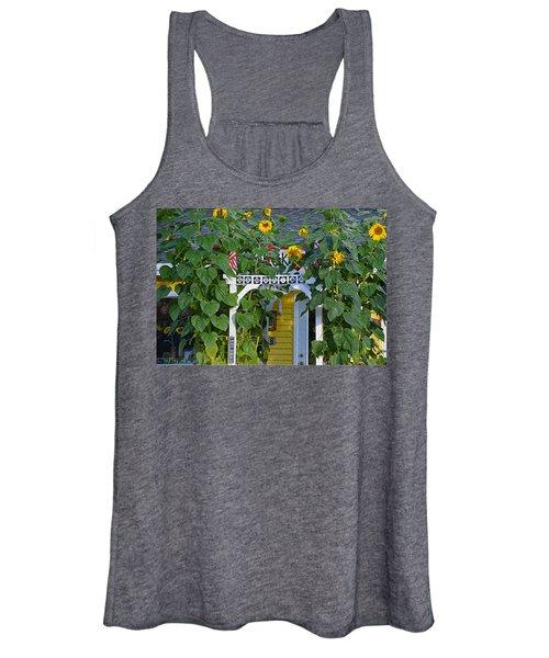 Sunflower Roads Women's Tank Top