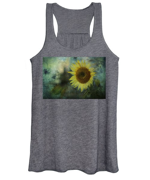 Sunflower Sea Women's Tank Top