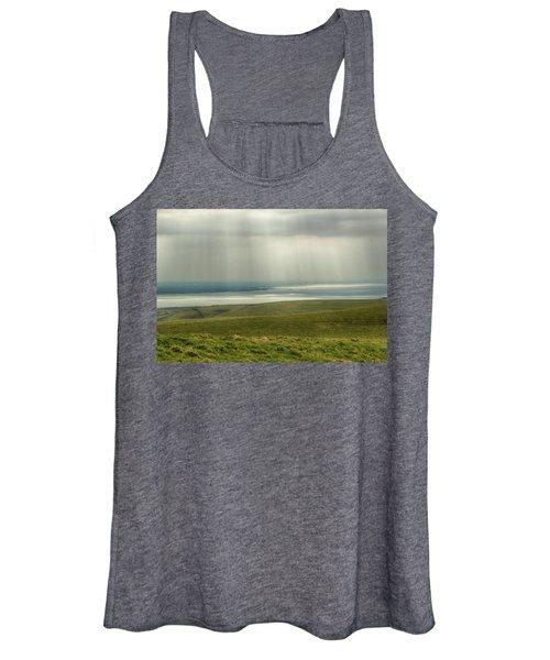 Sunlight On The Irish Coast Women's Tank Top