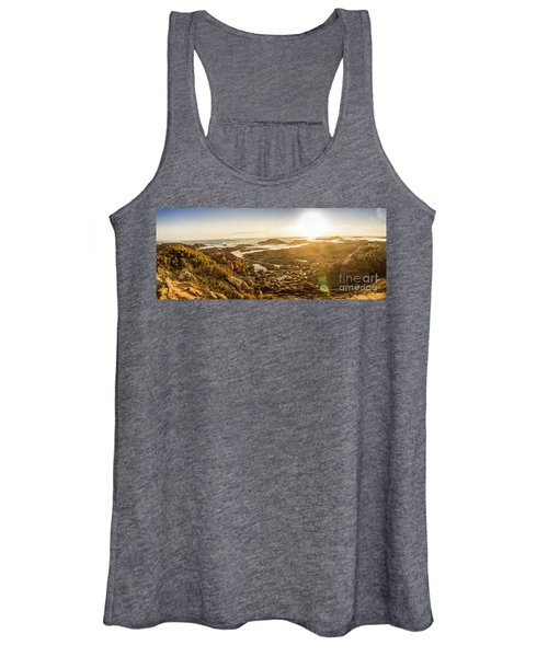 Sunlit Seaside Women's Tank Top