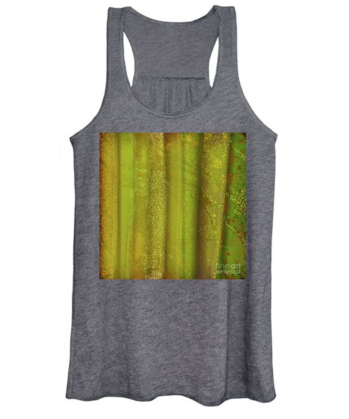 Sunlit Fall Forest Women's Tank Top