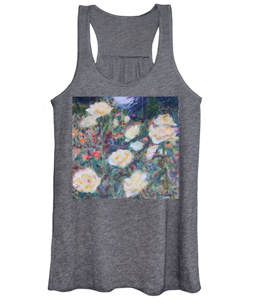 Sunny Day At The Rose Garden Women's Tank Top