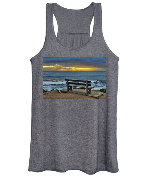 Sunrays On The Horizon Women's Tank Top
