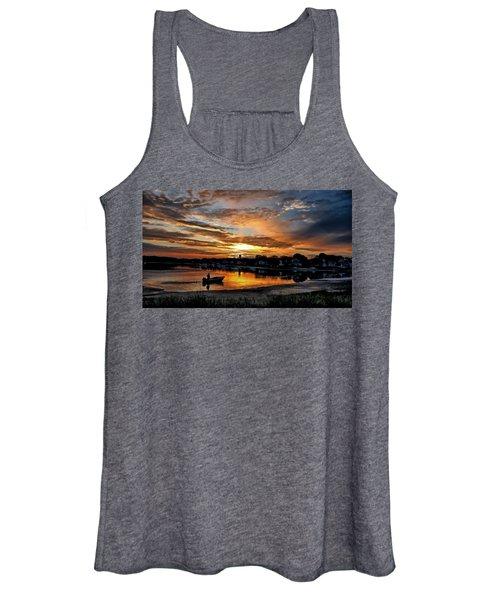 Sunrise At Back Cove Women's Tank Top