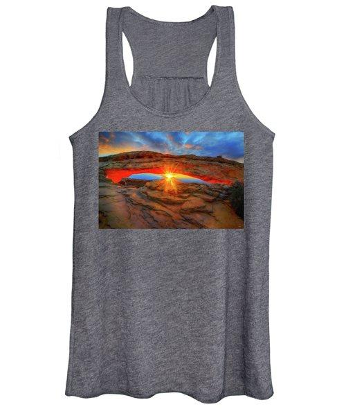 Sunrise At Mesa Arch Women's Tank Top