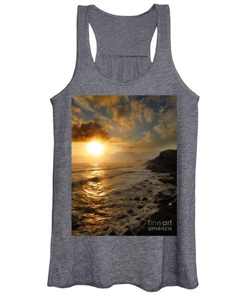 Sunrise By The Rocks Women's Tank Top