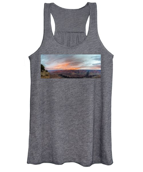 Sunrise In The Canyon Women's Tank Top