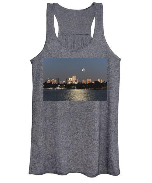 Moonrise Over Miami Women's Tank Top