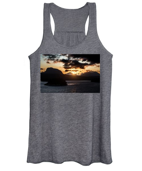 Sunrise Over The Inland Passage Women's Tank Top