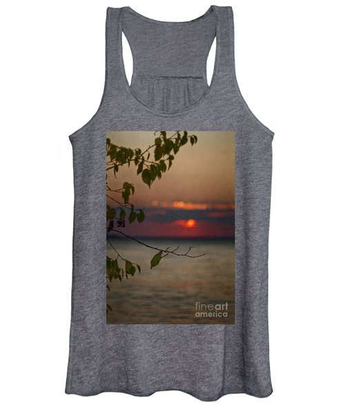 Sunset And Branches Women's Tank Top