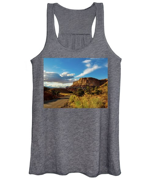 Sunset At Capitol Reef Women's Tank Top