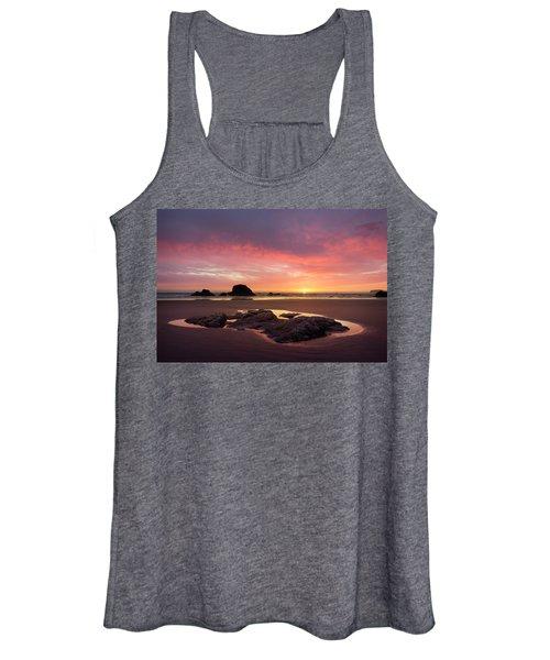 Sunset At Ruby Beach Women's Tank Top