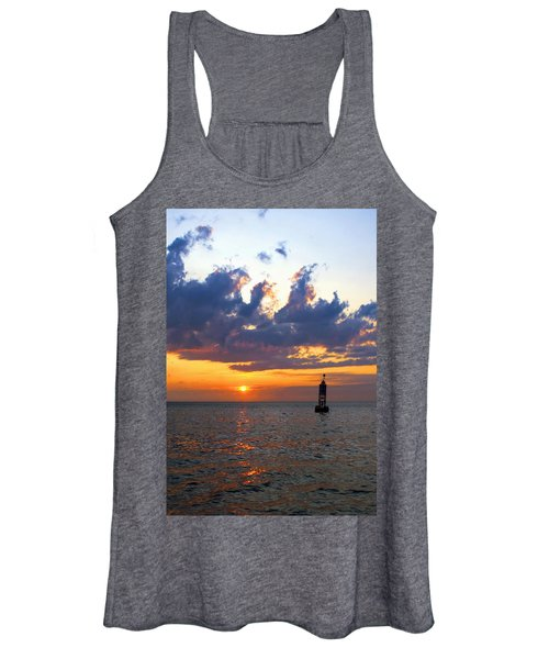 Sunset At The Bell Buoy Women's Tank Top
