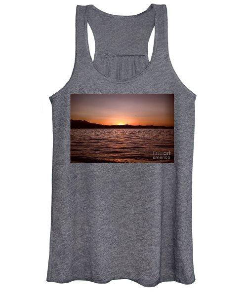 Sunset At The Lake 2 Women's Tank Top