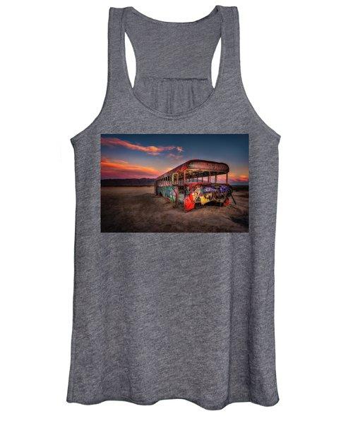 Sunset Bus Tour Women's Tank Top