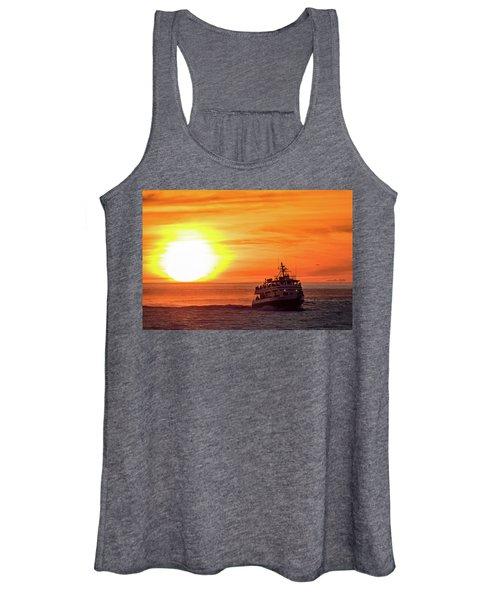 Sunset Ferry Women's Tank Top