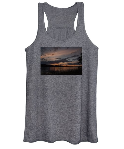 Sunset From Afternoon Beach Women's Tank Top
