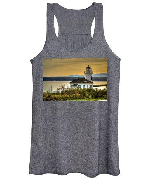 Sunset Light House Women's Tank Top