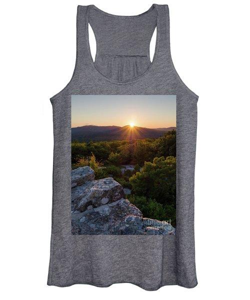 Sunset, Mt. Battie, Camden, Maine 33788-33791 Women's Tank Top