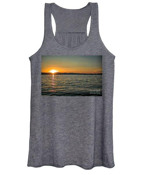 Sunset On Left Women's Tank Top
