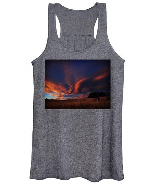 Sunset Plains Women's Tank Top