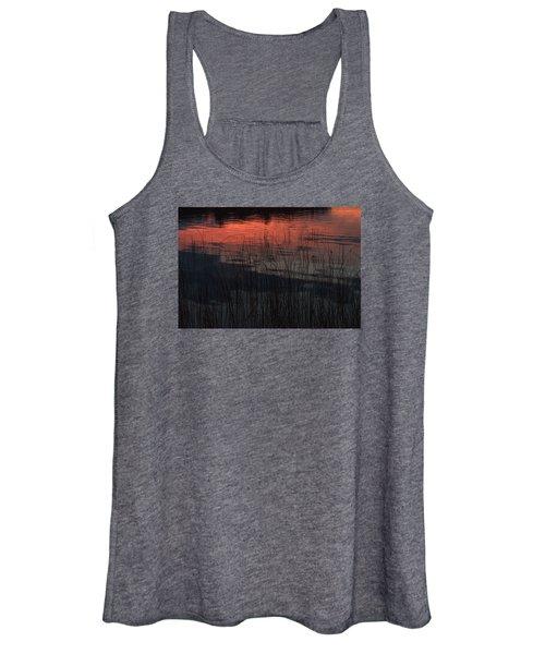 Sunset Reeds Women's Tank Top