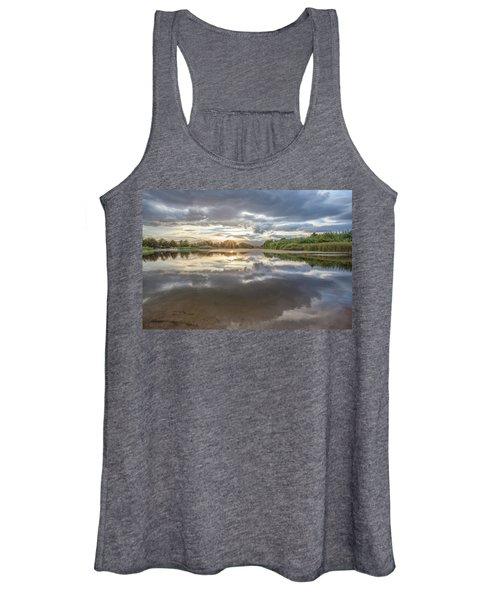 Sunset Reflected Women's Tank Top