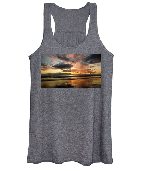 Sunset Split Women's Tank Top