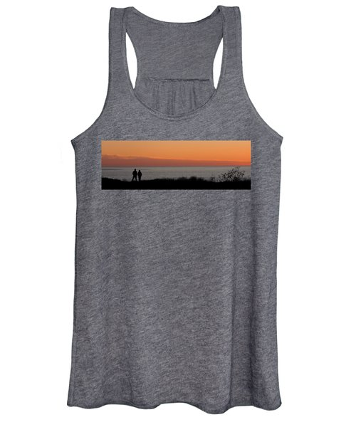 Sunset Stroll Women's Tank Top
