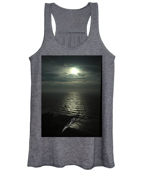 Sunshine Over Central Pier, Atlantic City, Nj Women's Tank Top
