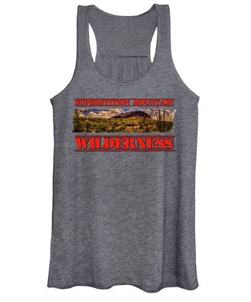 Superstition Mountain And Wilderness Women's Tank Top
